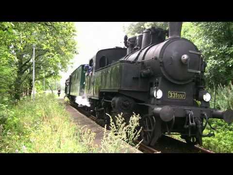 Historicky vlak Nostalgia Brestovec 2010 28. 8.