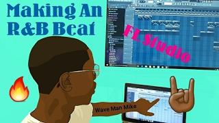 FL Studio 12 Beginner's R&B Beat Tutorial | Wave Man Mike