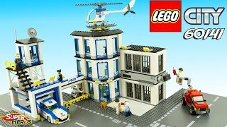 LEGO CITY Le Commissariat De Police 60141 Jouets Toy Review Speed Build Noel 2018