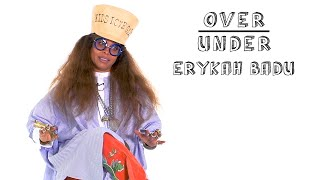 Erykah Badu Rates Aliens, Period Tracker Apps, and Porky Pig   Over/Under