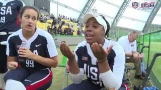 Team USA Woman's Softball vs Japan All Stars Recap 2016
