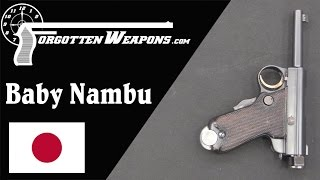 A Japanese Officer's Pistol: The Baby Nambu