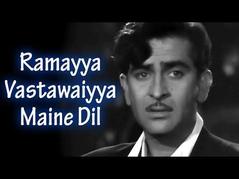 Xxx Mp4 Ramayya Vastawaiyya Raj Kapoor Nargis Shree 420 Bollywood Classic Songs HD Shankar Jaikishan 3gp Sex
