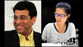 How Vishy Anand crushed Hou Yifan in the Petroff at the Isle of Man International 2017!