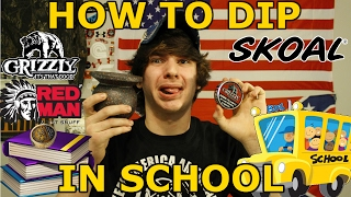 How To Dip In School!