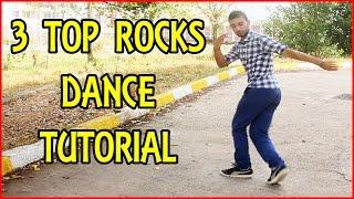 3 TOP ROCKS IN 1 DANCE TUTORIAL | How to B-Boying | #TutorialTuesday #4