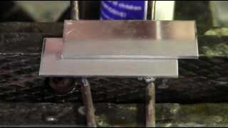 Solder Aluminum at Weld Strength with a Propane Torch
