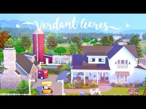 Xxx Mp4 Verdant Acres 🧺 🌱 The Sims 4 Seasons Speed Build CC Free Download Links 3gp Sex