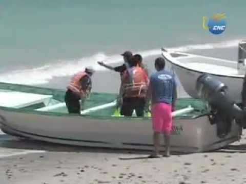 Extraño fenómeno se come la playa de Los Frailes Baja California Sur