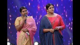 Thakarppan Comedy I The first lady artist to perform I MazhavilManorama