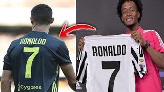 لماذا يُفضل كريستيانو رونالدو الرقم 7..؟؟ ومن ارتداه قبله في يوفنتوس؟