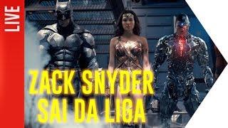 URGENTE! Zack Snyder deixa Liga da Justiça devido a tragédia familiar!