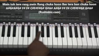 Sab Tera...... (Piano Tutorials) - Baaghi Movie