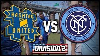 HASHTAG UNITED vs NEW YORK CITY FC STAFF | #CocaColaUSTour