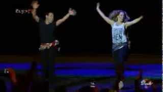 رقص تاتیانا همراه محمد خردادیان در برنامه   HAZARAGI     DANSE