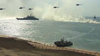 Russia conducts military drills in Crimea