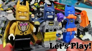 THE LEGO BATMAN MOVIE: Batcave Break-in 70909 - Let