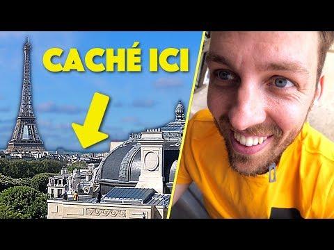 Cache cache sur le plus grand toit de Paris