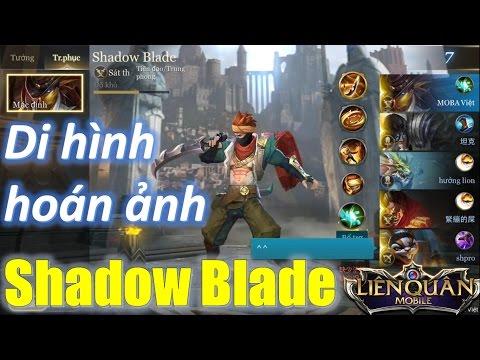 Liên Quân Mobile Sát thủ mới Shadow Blade tàng hình né skill ảo diệu hơn Nakroth Mua và quẩy luôn