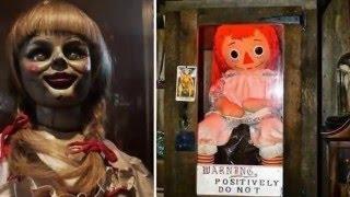 Boneca Anabelle no livro