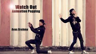 Krewella Music - killin it   Animation Popping dance 2017   Avas Brahma
