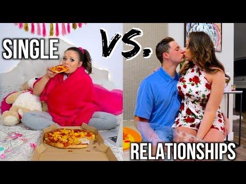 Single Vs. Relationships On Valentines Day