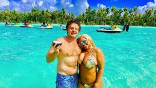 TRISHA AND JASON'S $70,000 BORA BORA VACATION!!