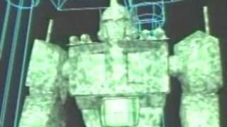 Optimus Primal talks with Optimus Prime