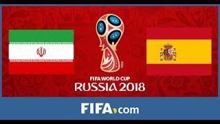 Iran Vs Spain - PES World Cup 2018 Simulation