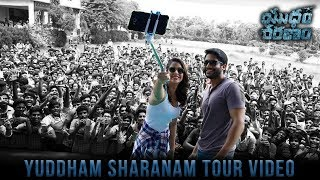 Yuddham Sharanam Tour Video | Chay Akkineni | Lavanya Tripathi | Srikanth