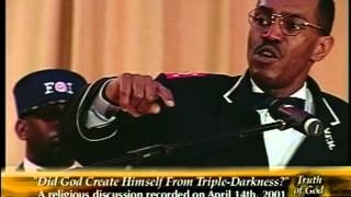 Pastor Gino Jennings Truth of God Broadcast 556-558 Rodney Muhammad Debate Part 1 of 2
