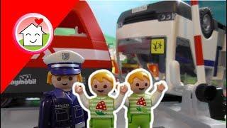 Playmobil Film deutsch Das Zugunglück - Playmobil Eisenbahn - Kinderfilm von family stories