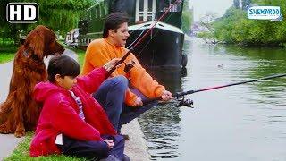 Jab Pyaar Kisise Hota Hai - Salman Khan & Aditya Narayan Scene [HD] - Father Son Videos- Hindi Movie