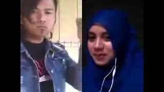 Smule lucu - yonca gagap duet dengan hijaber cantik bikin ketawa