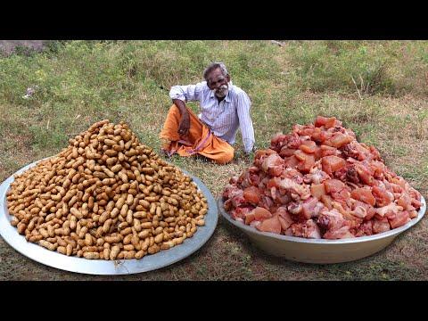 Xxx Mp4 Peanut CHICKEN Prepared By My Daddy Arumugam Village Food Factory 3gp Sex