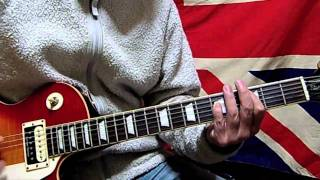 Sex Pistols : Anarchy in the U.K. / Tribute Guitar Cover.