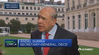 """US-China trade tensions spillover will become """"more evident"""": OECD 