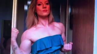 Rachel Plumb Biceps FBB Norwegian Lifting Goddess  Female Muscle Instagram @norwegian_liftinggoddess