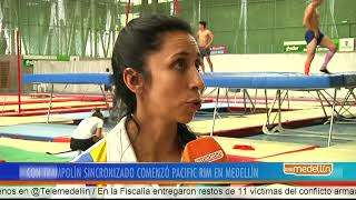 Con la gimnasia rítmica comenzó Pacific Rim en Medellín [Noticias] - Telemedellín