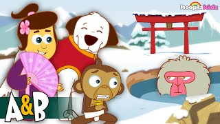 The Adventures of Annie and Ben – JAPAN by HooplaKidz in 4K EP 13