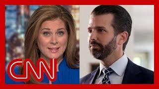 Erin Burnett debunks Trump Jr.: That answer is ridiculous