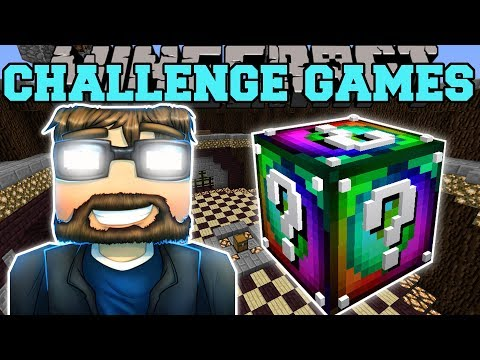 Minecraft EVIL SSUNDEE CHALLENGE GAMES Lucky Block Mod Modded Mini Game