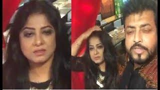 মৌসুমী গভীর রাতে এ কী অবস্থায় লাইভে আসলেন !? Moushumi Live showbiz news !
