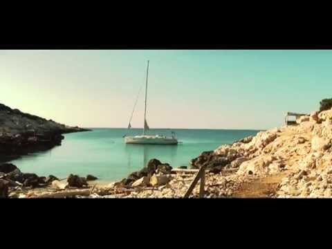 Bavaria 40 cruiser sailing (croatia)