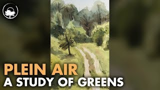 Everything is Green - Plein Air Adventure 63