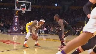 LeBron James Stares Down Isaiah Thomas And Can