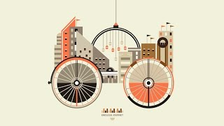 PowerPoint Animation Tutorial Motion Graphics Riding the City Animation