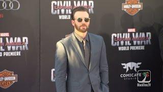 Captain America Civil War World Premiere Interviews