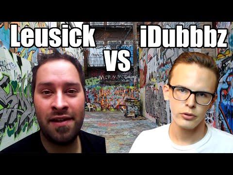 iDubbbz VS Leusick Little Caesars Grimestepper
