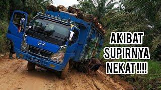 Aksi nekat dan skill hebat supir truck - Amazing Truck Driving Skill - Best of truck